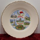 Souvenir Collector Plate Texas The Lone Star State