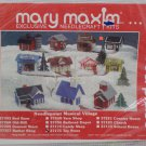 Needlepoint Kit Christmas Village Toy Store Musical  by Mary Maxim New