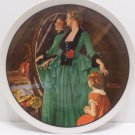 1984 Collector Plate Grandms's Courting Dress Norman Rockwell Bradford Exchange