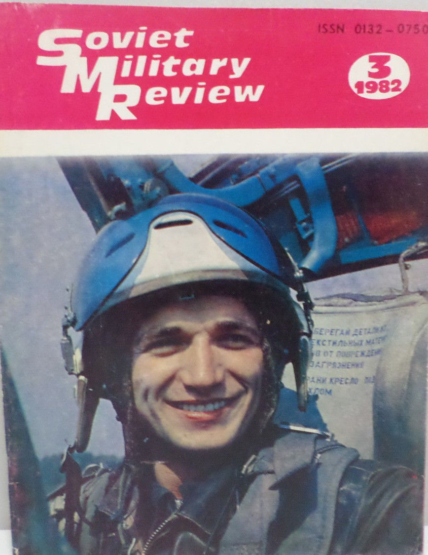 Soviet Military Review Magazine March 1982