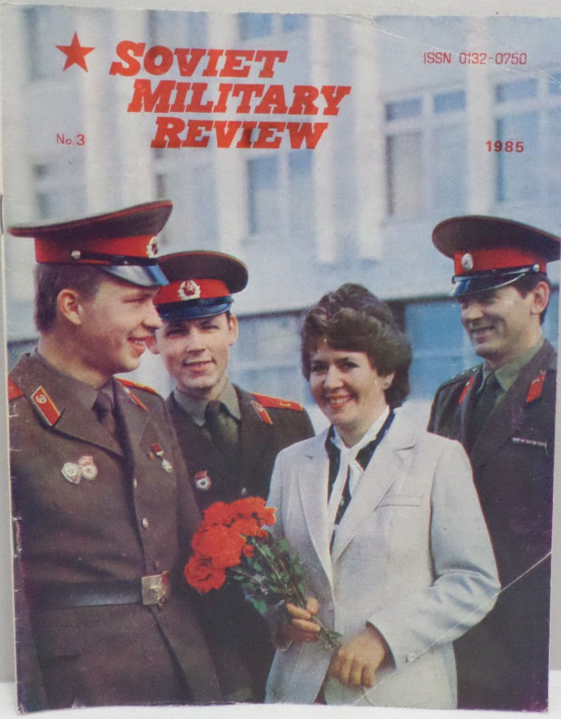 Soviet Military Review Magazine March 1985