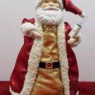Christmas Tree Topper Porcelain Santa Claus