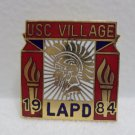 1984 Los Angeles Olympics Collector Pin Los Angeles Police Dept. USC Village
