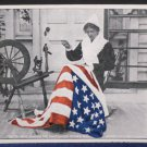Antique Postcard Betsy Ross Making First United States Flag Unposted Undivided