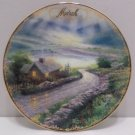 Collector Plate Emerald Isle Cottage by Thomas Kinkade March SimplerTimes