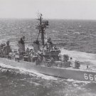 USS Black DD 666 Battleship Real Photo Postcard Official U.S. Navy NEW