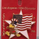 1984 Los Angeles Olympics Collector Pin Sam the Eagle Cloisonne Collector