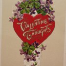 Antique Valentine Postcard by John Winsh Germany Divided and Unposted 1913