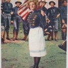 Antique Patriotic Postcard Unposted Divided
