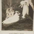 Antique Easter Postcard Angel Glossy Posted Undivided