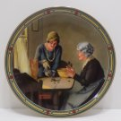Collector Plate A Family's Full Measure Norman Rockwell #6742C Bradford Exchange