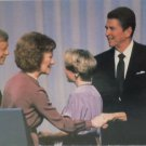 Real Photo Postcard President Jimmy Carter and Governor Ronald Reagan