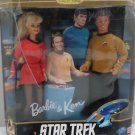 Barbie and Ken Dolls Star Trek Gift Set by Mattel
