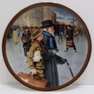 1991 Collector Plate A Helping Hand by Norman Rockwell Bradford Exchange