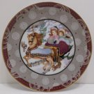 Collector Plate Over the River and Through The Woods by Renee Faure Germany