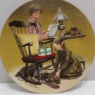 1982 Collector Plate Father's Day by Don Spaulding #14549A Edwin Knowles