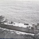 USS Dunn County LST 742 Ship Real Photo Postcard Official U.S. Navy NEW