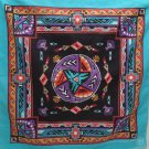 Vintage Bandana Scarf Do-Rag 50% Cotton 50% Polyester by Wamcraft made in USA
