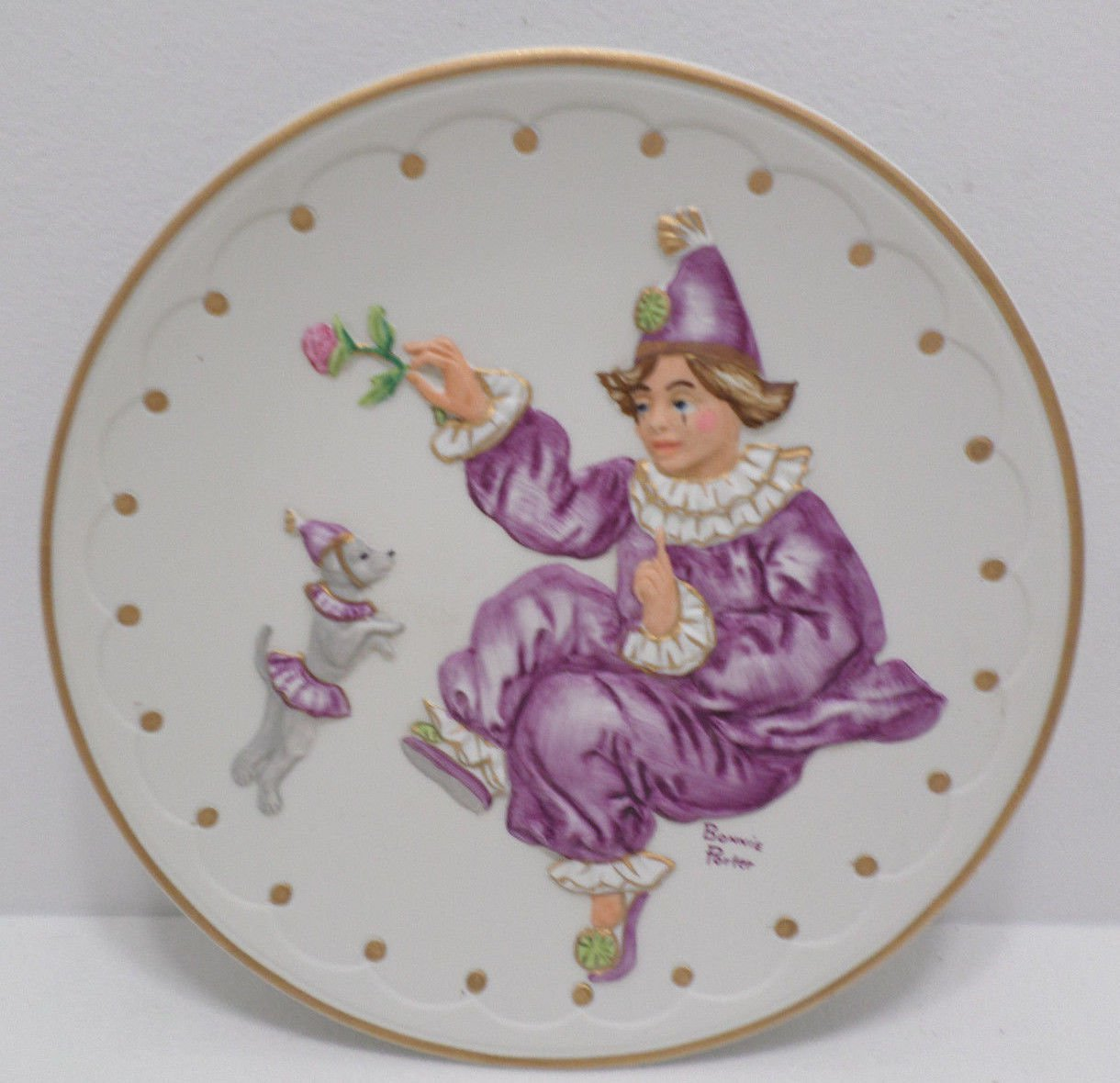 Collector Plate Act 1 by Bonnie Porter the Performance Series Limited Ed.