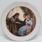 Collector Plate Young Love by Norman Rockwell 1982 Japan