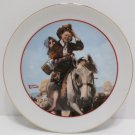 Collector Plate Young Love Series 1982 Japan by Norman Rockwell