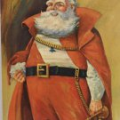 Antique Christmas Postcard Santa Claus Strauss Unposted Divided