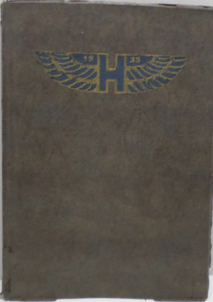 Antique 1925 Annual Yearbook Hayward Claifornia Union HIgh School