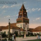 Antique Postcard Pan Pacific Intl Expo San Francisco The Swedish Building