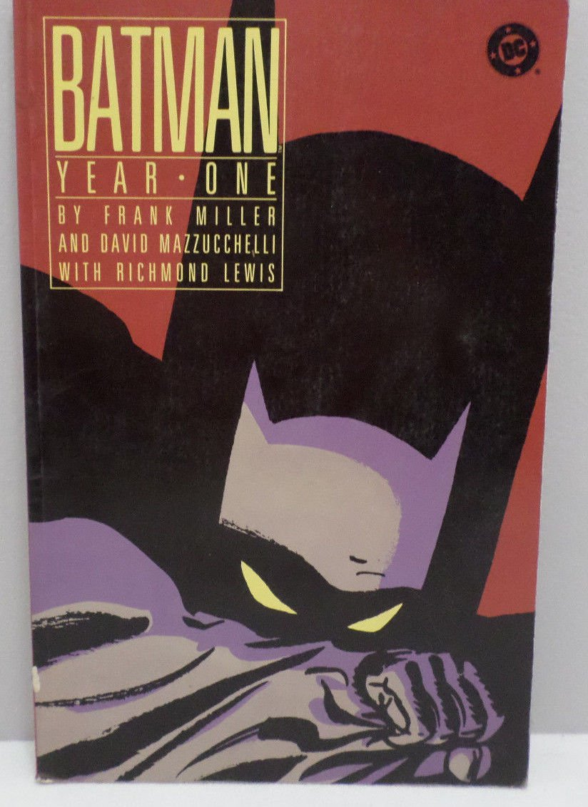 Batman Year One 1988 by Frank Miller DC Comics Comic Book