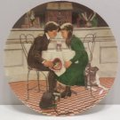 1981 Collector Plate Valentines Day #17989E Knowles COA NIB