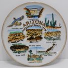 Collector Plate Souvenir Arizona The Grand Canyon State Porcelain