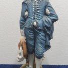 Lefton Blue Boy Figurine Porcelain Made in Japan
