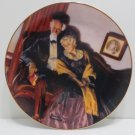 """Collector Plate """"End of Day""""  by Norman Rockwell #11842A Bradford Exchange"""