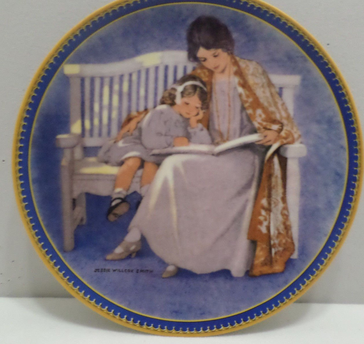 1987 Collector Plate Mother's Day by Jessie Wilcox Smith The Hearst Corp.