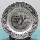 Collector Plate Louis Lebeuf Montereau Earthenware made in France