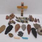Southwestern Totem Pole Beads Arrow Heads findings