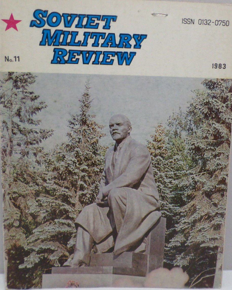 Soviet Military Review Magazine November 1983