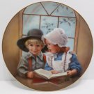 Collector Plate Little Tutor by Sandra Kuck retired Danbury Mint