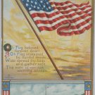 Antique Postcard U.S. Flag 4th of July Memorial Day Decoration Day Unposted