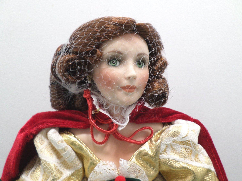 Porcelain Doll Christina by Linda Hanson Limited Edition NIB Paradise Galleries