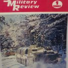 Soviet Military Review Magazine January 1982