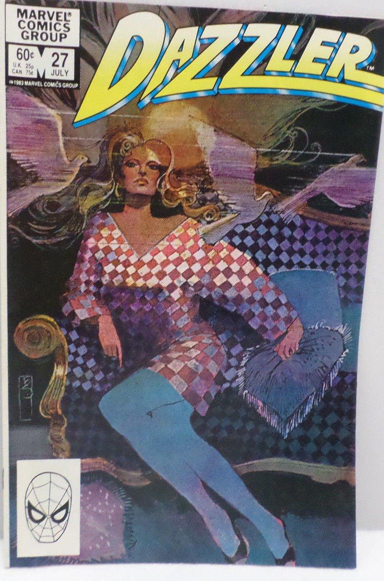 DAZZLER July 1983 No. 27 Marvel Comics Comic Book
