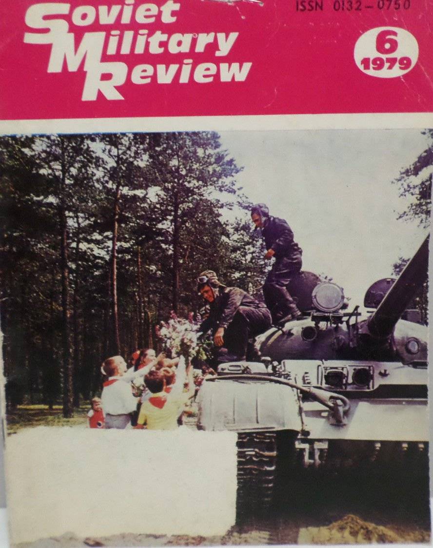 Soviet Military Review Magazine June 1979