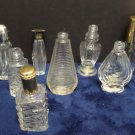 Vintage Perfume Bottles Miniature Empty 8 pcs