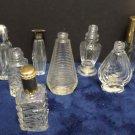 Vintage Perfume Bottles Miniature Empty 8 pcs
