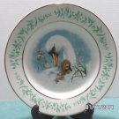 1975 Avon Collector Plate Blue Gentle Moments by Enoch Wedgewood Special Edition