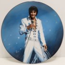 Collector Plate Elvis Presley King of Las Vegas Porcelain New Old Stock