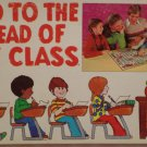 Go To The Head Of The Class Board Game by Milton Bradley 1977 Family Quiz