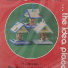 Mary Maxim Needlepoint Kit Bird Feeders New  in Package