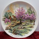 Collector Plate Currier & Ives American Homestead Spring
